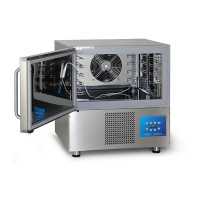 Blast chillers and shock freezers